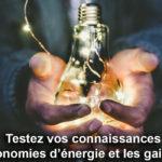 Quiz Economies d'énergie FNH